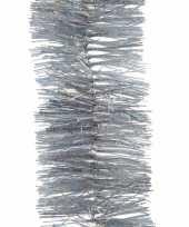 Feestslinger zilver glitter folie 7 x 270 cm feestje