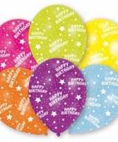 Feestversiering ballonnen 6 stuks feestje
