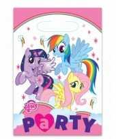 Feestzakjes met my little pony plaatjes feestje