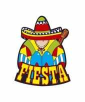 Fiesta decoratie bord mexicaans feestje