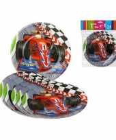 Formule 1 kinderfeest bordjes 6x stuks feestje