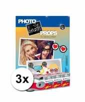Foto props set vrijgezellenfeest incl 3x wegwerp camera feestje