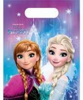 Frozen thema feestzakjes feestje