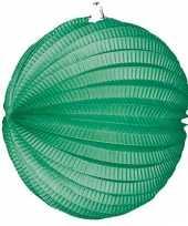Groen gekleurde feest lampionnen feestje
