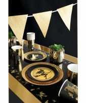 Heksen zwarte thema kinderfeestje versiering pakket 2 8 personen feestje