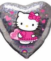 Hello kitty feest folie ballon 45 cm feestje