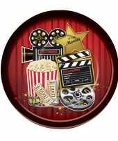 Hollywood feestbordjes 8 stuks feestje