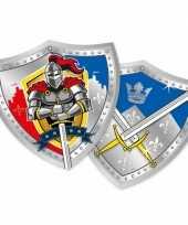 Kinderfeest ridder bordjes feestje 10145089