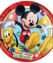Kinderfeestje bordjes mickey mouse feestje 10145077