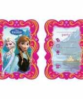 Kinderfeestje frozen uitnodigingen feestje 10145179