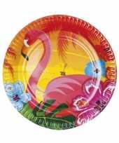 Kleurige feestborden feestje