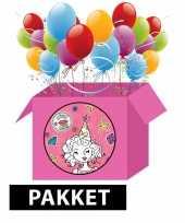 Knutsel kinderfeest pakket voor meisjes feestje