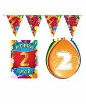 Leeftijd feestartikelen 2 jaar voordeel pakket feestje