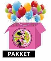 Minnie mouse kinderfeest pakket feestje