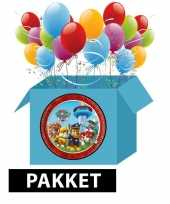 Paw patrol kinderfeest pakket feestje