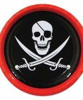 Piraat feest bordjes feestje
