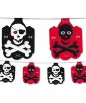 Piraten themafeest slingers 350 cm feestje