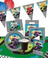 Race formule 1 thema kinderfeest pakket feestje