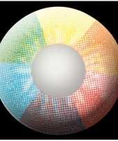 Rainbow uv feestlenzen feestje