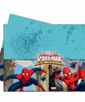 Spiderman feest tafelkleed 120 x 180 cm feestje