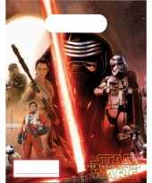 Star wars feestzakjes 6 stuks feestje
