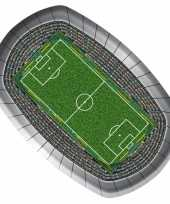 Voetbal feest borden 18 x 27 cm feestje