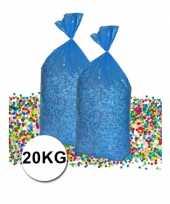 Voordeelverpakking gerecyclede feest confetti 20 kg feestje