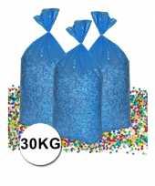 Voordeelverpakking gerecyclede feest confetti 30 kg feestje
