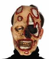 Zombie masker voor horror themafeest feestje